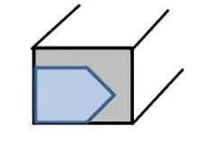 任意形状の押出材の形を自由に変更することでのコストダウン