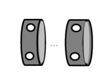 押出材をアルマイト材に変更することによるコストダウン